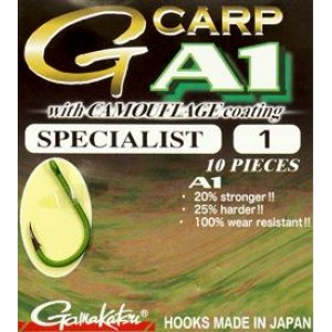 A-1 G-Carp Camouflage Green Specialist №01