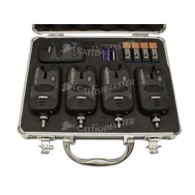 Набор электронных сигнализаторов поклевки 4+1 FA209-4