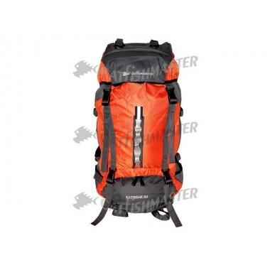 Рюкзак 60 л.(оранжевый с серым) С2456/60