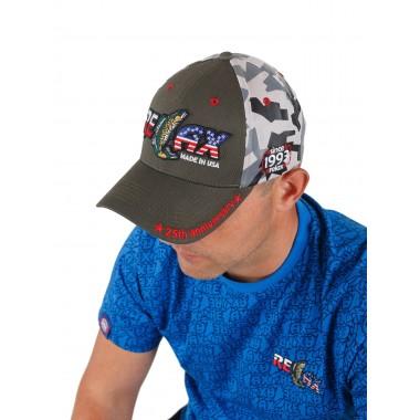 Фирменная кепка Relax (серая камо)