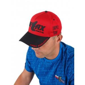 Фирменная кепка Relax (красно-черная)