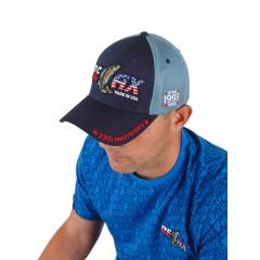 Фирменная кепка Relax (синяя)