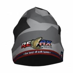 Трикотажная шапка Relax (серая камо)