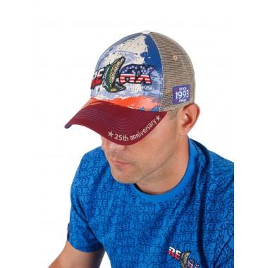 Фирменная кепка Relax (триколор)
